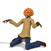 foto of wraith  - Funny Punpkin Man perfect for Halloween