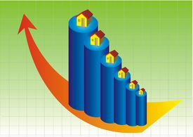 foto of graff  - The chart of growth in real estate - JPG