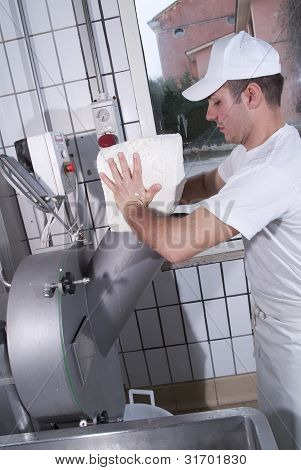 Dairymen, Who Prepare The Mozzarella