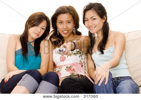 Girls With Remote