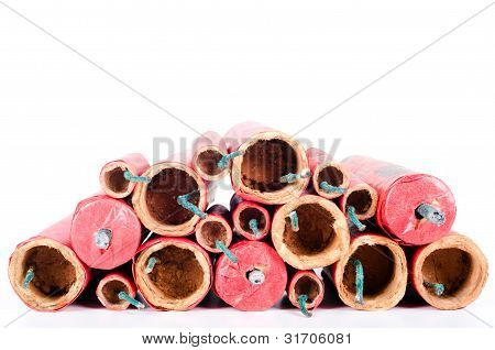 Many Red Firecracker