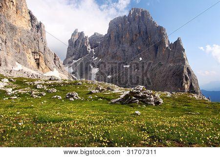 view of cima della madonna
