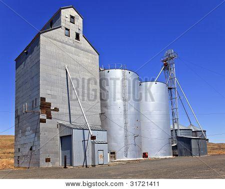 Wheat Granary Storage Palouse Washington State
