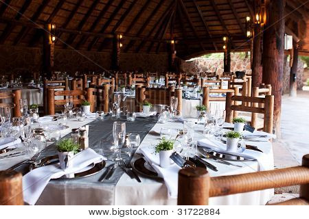 Wedding Reception Tables And Decor