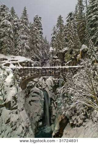 Christine Falls In Winter