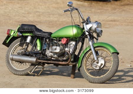 Hand Tuned Motorcycle.