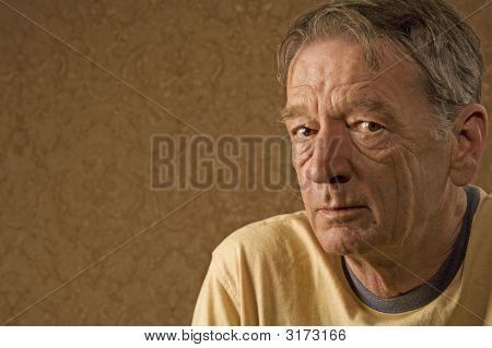 Mann im gelben Trikot