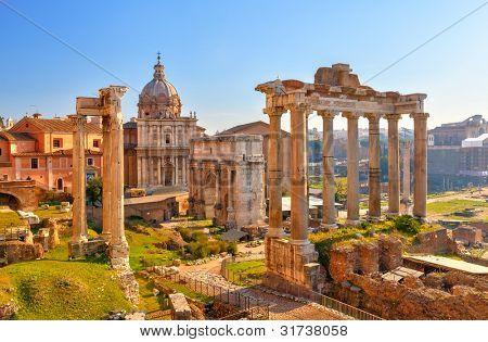 Romeinse ruïnes in Rome, Forum