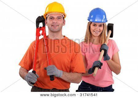A couple handyman.