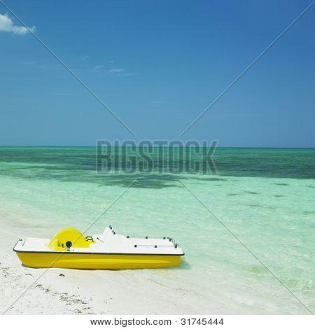 pedal boat, Santa Luci�a beach, Camaguey Province, Cuba