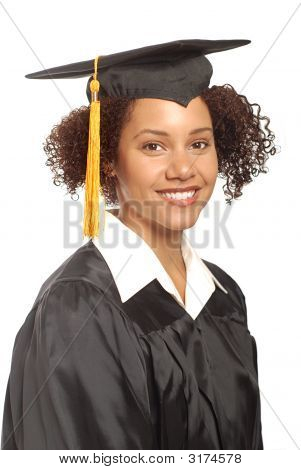 Simple Graduation Portrait