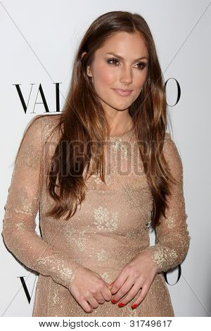 LOS ANGELES - MAR 27:  Minky Kelly arrives at the Valentino Beverly Hills Opening at the Valentino Store on March 27, 2012 in Beverly Hills, CA
