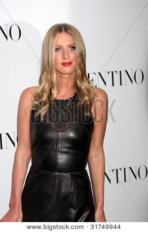 LOS ANGELES - MAR 27:  Nicky Hilton arrives at the Valentino Beverly Hills Opening at the Valentino Store on March 27, 2012 in Beverly Hills, CA