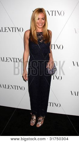 LOS ANGELES - MAR 27:  Cat Deeley arrives at the Valentino Beverly Hills Opening at the Valentino Store on March 27, 2012 in Beverly Hills, CA