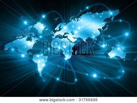 Beste Internet Concept global Business Konzepte-Serie