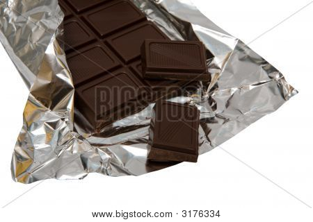 Dark Chocolate In A Foil