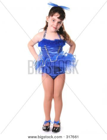 Tiny Blue Dancer