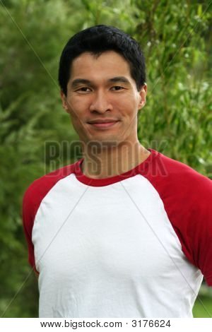 Handsome Asian Male