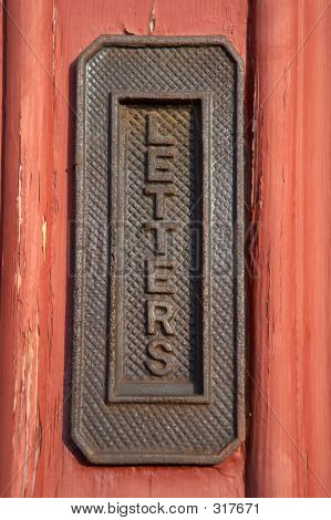 Vertical Letter Box
