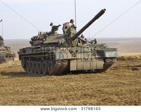 Tanque. Exército