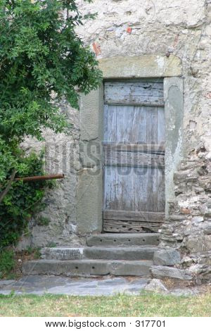 Old Country Door.