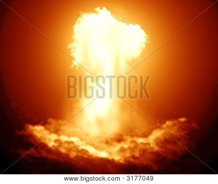 Bright Nuclear Explosion