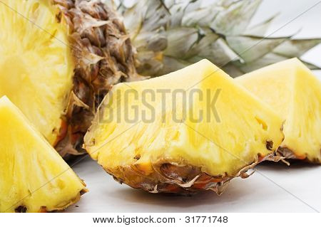 Pineapple in parts