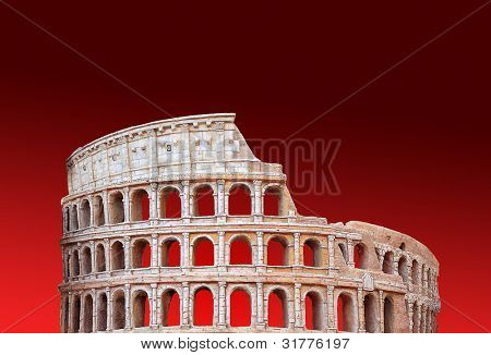 Rome's Colosseum background