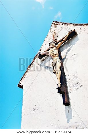 christ's on the cross