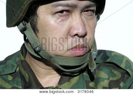 Heftige Soldat