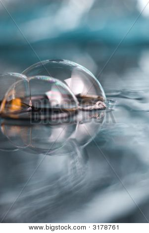 Abstract Scene 22 ,Soapy  Bubble