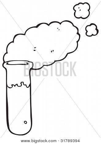 Imagen y foto Dibujos Animados De Tubo De Ensayo  Bigstock