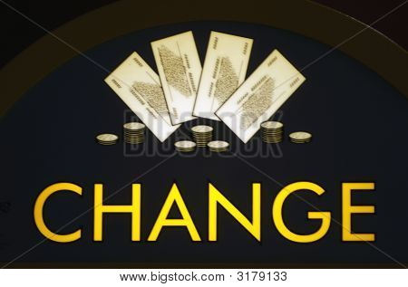 Irish Change Sign