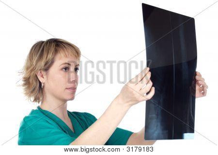 Woman Medical Professional