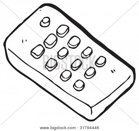 cartoon remote control