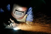 foto of pipe-welding  - The photo was made in the year 2008 - JPG