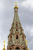 Shipka Memorial Church Or Memorial Temple Of The Birth Of Christ Spire Built Between 1885 And 1902 I poster