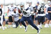 OXNARD, CA. - AUG 15: Dallas Cowboys WR (#19) Miles Austin during the second day of the 2010 Dallas