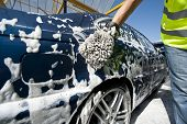 stock photo of car wash  - Close - JPG
