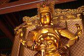 stock photo of pacific rim  - Skanda bodhisattva statue in Tian Wang Dian  - JPG