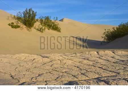Secar a lama e Duna de areia