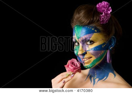 Mardi Gras Face Paint Series