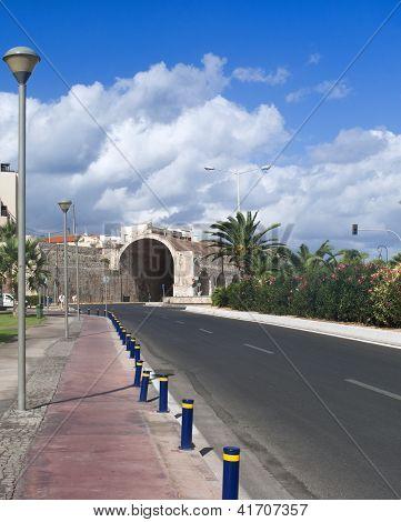 Heraklion Main Road View