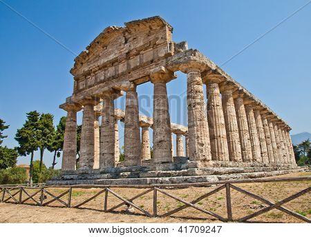Templo de Paestum - Itália