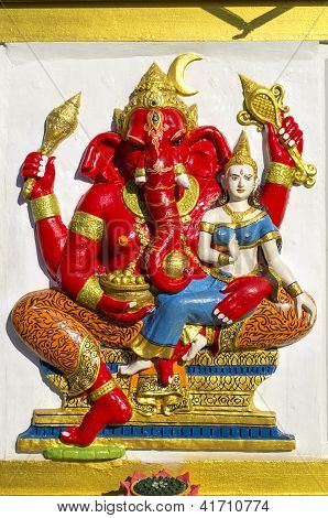 Sculpture Of Diety Ganesh