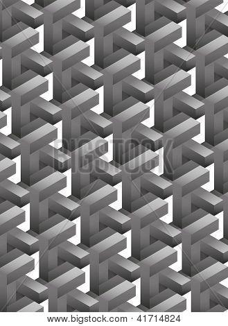 geometrische Hintergrund
