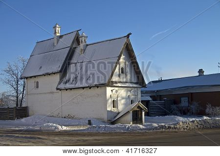Old Townsman House In Suzdal, Russia.
