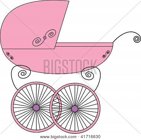 Baby cute stroller