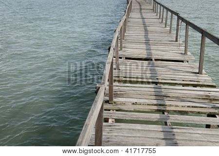 Abundance Wooden Jetty