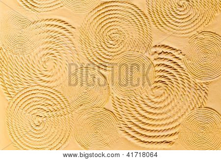 The Circular Textured Wall